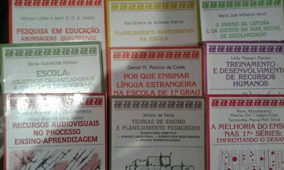 Livros-temas Básicos De Educação E Ensino-lote 23 Lv-+brinde