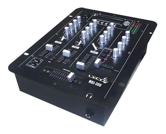 Mixer Ldj 300 3 Canais Com Usb