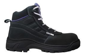 Zapato Bota Industrial Para Dama - Xplor - L - Wsm Plus