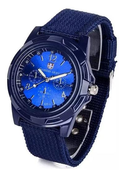 Relógio Militar Quartzo Man New Style