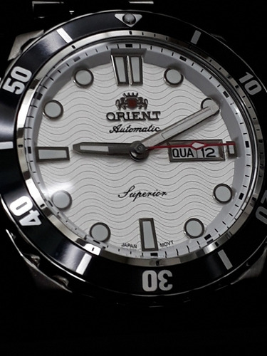 Relógio Orient Superior - Automático - 44mm - Impecável !!!
