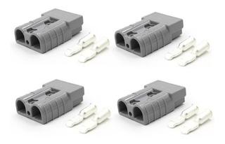Conector X4 Tipo Anderson Sb50 A Autoelevadores Apilador