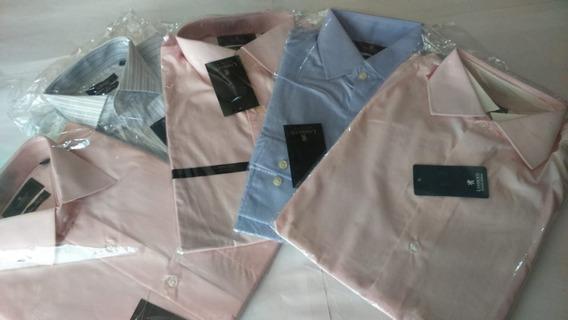 Paquete De 5 Camisas De Vestir De Algodón Tallas Chicas Mens