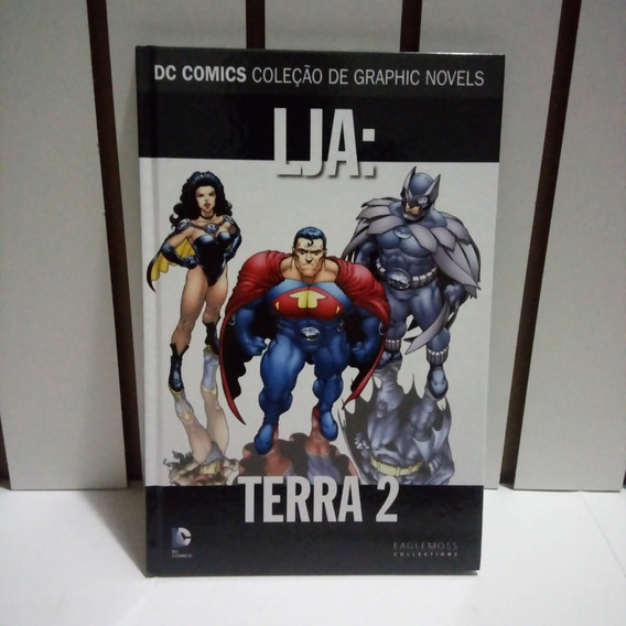 Dc Comics - Lja - Terra 2 - Volume 13