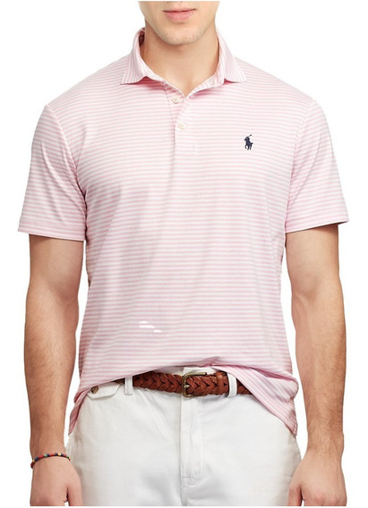 Chombas Classic Fit Soft Touch Striped Polo R Lauren(20%off)