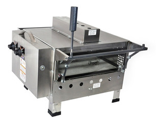 Pizza Grill Refratario Inox 425 X 425 Para Pizza De 40cm