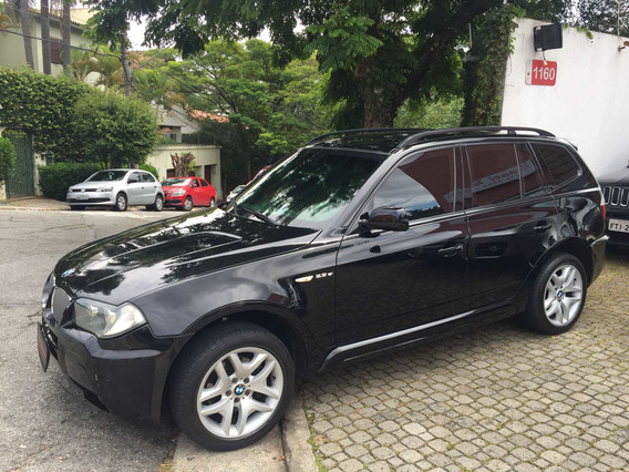 Bmw X3 2.5 Si Blindada ( 2007/2007 ) R$ 33.499,99