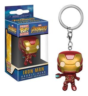 Funko Pop Keychain Iron Man Mark L Avengers Infinity War