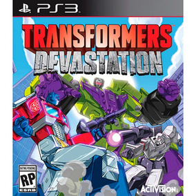 Jogo Novo Lacrado Transformers Devastation Ps3 Playstation 3