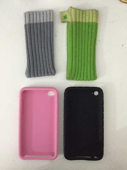 Case iPod Touch - 4 Unidades Diferentes Lindas Da Apple