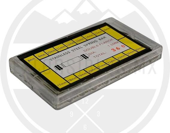 Paquete Estuche Pernos Acero 360 Piezas 8mm-25mm Emx