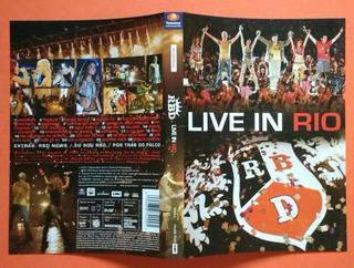 Dvd + Encarte Interno Rbd - Live In Rio