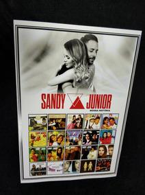 Poster Sandy E Junior Discografia Nossa Historia Sandy Turne