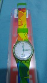 Exclusivo Relógio Swatch Dos Voluntarios Rio 2016!