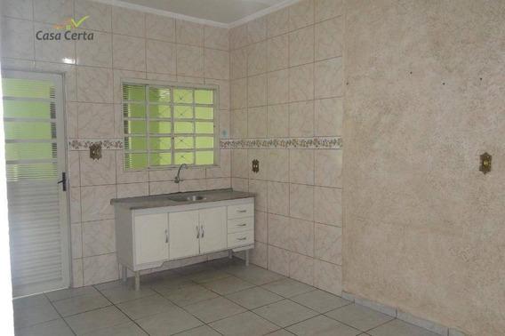 Casa Com 2 Dormitórios Para Alugar, 70 M² Por R$ 950/mês - Jardim Novo Itacolomi - Mogi Guaçu/sp - Ca1544