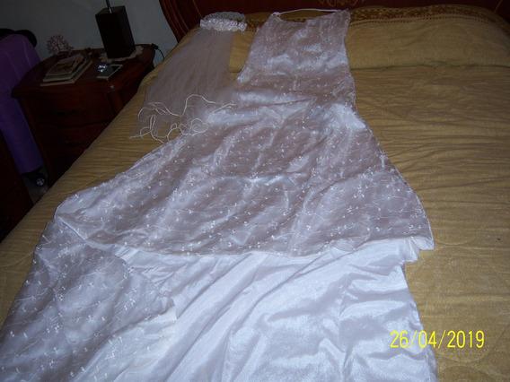 Vestido De Novia Bella Silueta Talla S