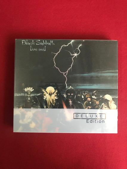 Cd Duplo - Black Sabbath - Live Evil - Importado - Seminovo