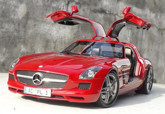 1:18 Miniatura Mercedes Sls Amg Minichamps 0km Ñ Gt Autoart