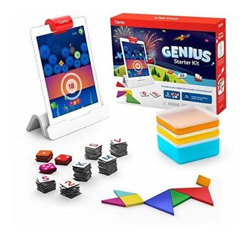 Osmo  Genius Starter Kit Para iPad  5 Juegos De Aprendiza