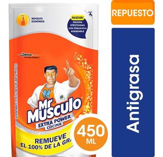 Mr Músculo Extra Power Cocina 450ml Dp - 12 Unidades