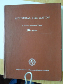 Manual Industrial Ventilation - Excelente Contenido Y Estado