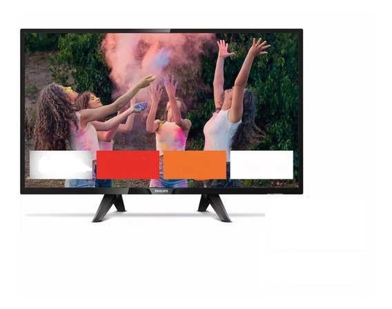 Smart Tv 32 Led Philips Mod. 32phg5813/77 Wi Fi Incorporado