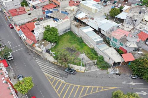 Imagen 1 de 9 de Terreno En Esquina Para Comercio Tláhuac Centro