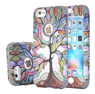 iPhone 6s Plus Funda Harsel Hermoso Árbol De La Vida De Dise