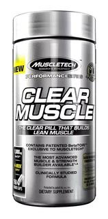 Clear Muscle Muscletech 168 Caps - Original - Importado!