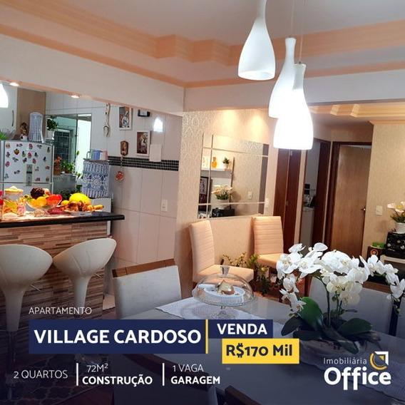 Apartamento Padrão Com 2 Quartos No Village Cardoso - Off309-v
