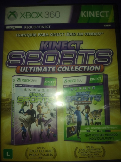 Kinect Sports Ultimate Collection Xbox 360 Midia Física