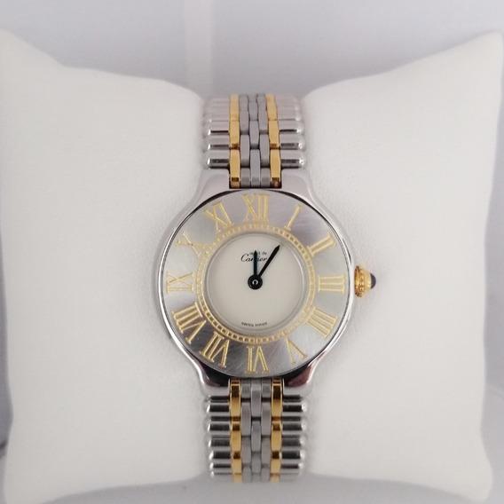 Reloj Dama Must De Cartier Siglo 21 Original
