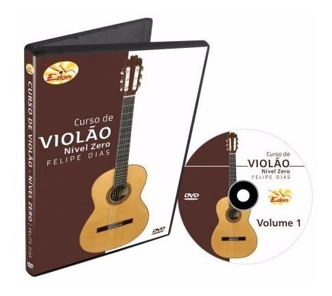 Curso Violão Nivel Zero Volume 1 Em Dvd