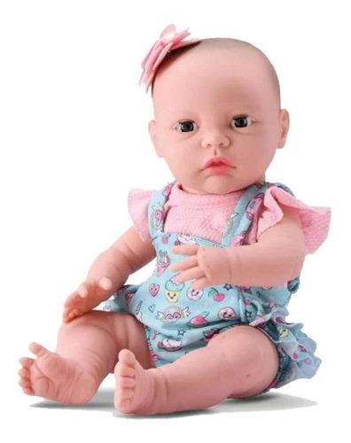 Boneca Bebê Newborn Reborn Cuidados - Divertoys