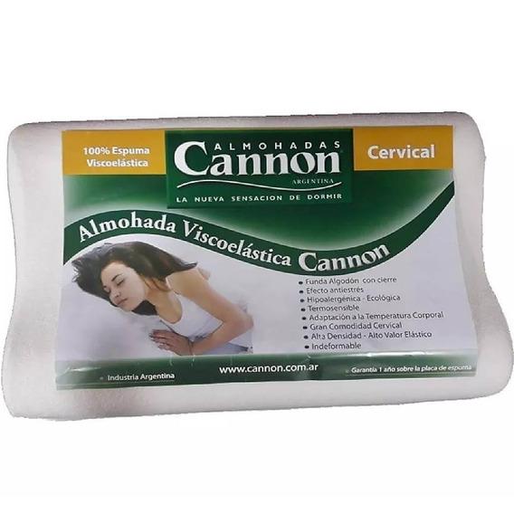 Almohada Cannon Viscoelastica Cervical