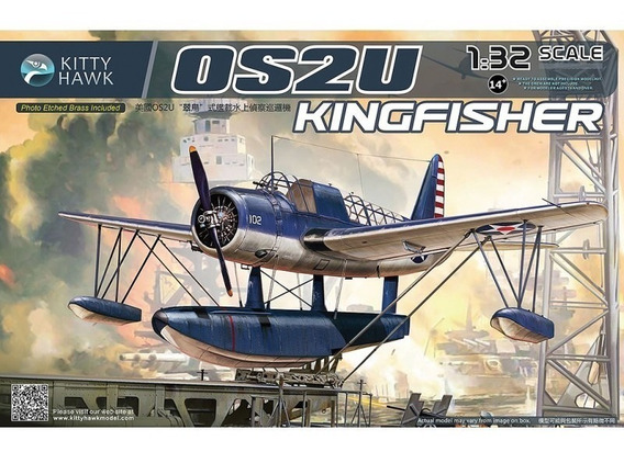 Avion Kitty Hawk P/armar Os 2u Kingfisher 1/32 Kit 32016