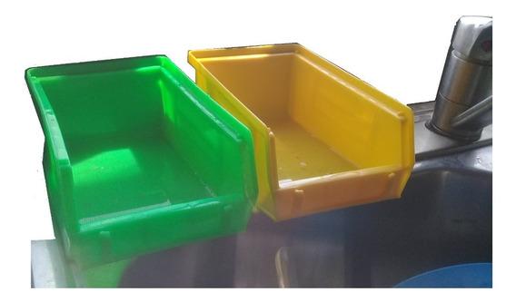Porta Esponjas 2 Y 2 Esponjas Lava Trastes Evita La Choquia