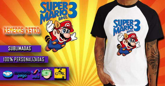 Remera Mario Bros Gaming