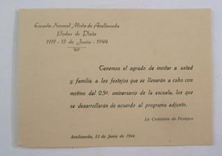 Tarjeta Invitacion Escuela De En Mercado Libre Argentina