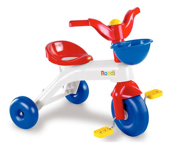 Rondi Primer Triciclo Infantil Colores Blanco Y Azul