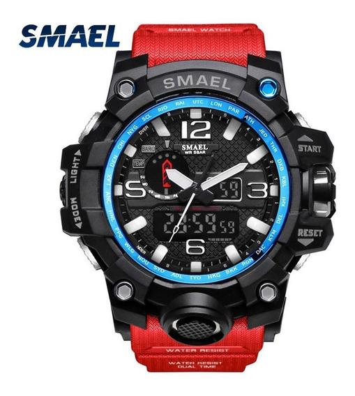 Relógio Esportivo Elegante Smael 1545