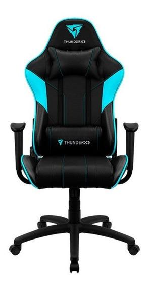 Cadeira Gamer Thunder X3 Ec3 Reclinável Preto/azul Pro