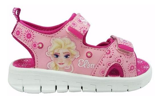 Sandalias Disney Frozen Elsa Con Luz Addnice Mundo Manias