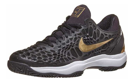 Zapatillas Nike Cage 3 Hc Black/gold