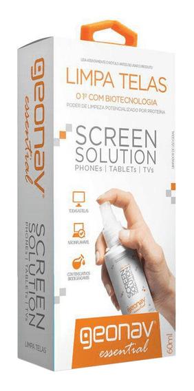Limpa Telas Screen Solution 60 Ml Sc60ml - Geonav