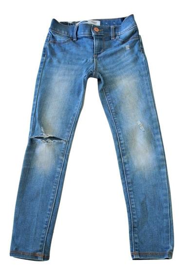 Jeggings Leggings Pantalon Mezclilla Niña Rockstar 6 Años