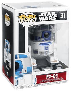 Funko Pop Star Wars 31 R2-d2 Nuevo Magic4ever