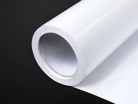 Vinil Adesivo Envelopamento Branco Fosco - 6m X 1m