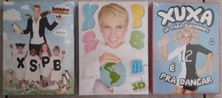 Dvd + Cd Xuxa Só Para Baixinhos Coleção 10 11 E 12 Original