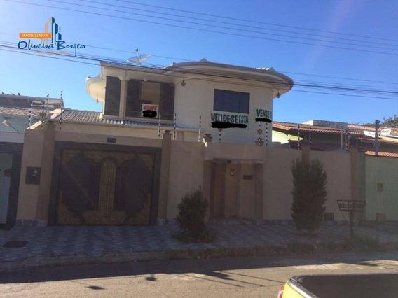 Sobrado Com 5 Dormitórios À Venda, 326 M² Por R$ 850.000,00 - Vila Nossa Senhora D Abadia - Anápolis/go - So0084